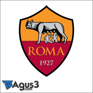 Logo AS Roma Vectot Cdr Terbaru