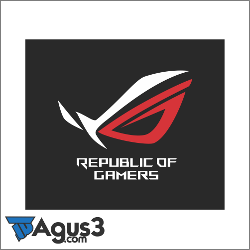 Logo Asus ROG Republic Of Gamers Vector Cdr