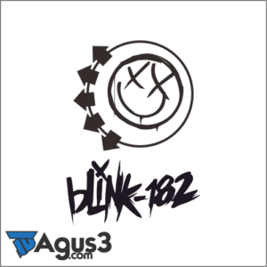 Logo Band Blink 182 Vector Cdr