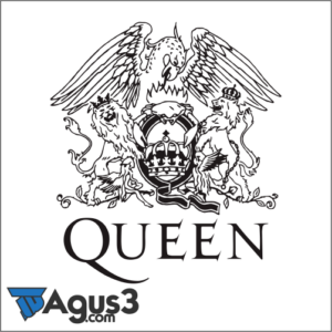 Logo Band Queen Vector Cdr