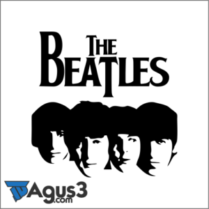 Logo Band The Beatles Vector Cdr
