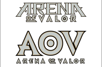 Logo Game AOV Arena Of Valor Vector Cdr