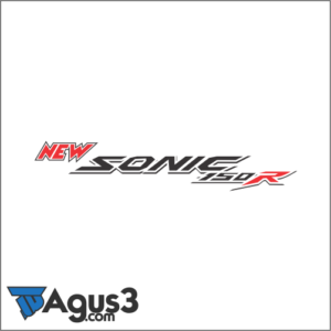 Logo New Sonic 150R Vector Cdr