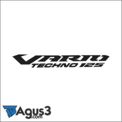Logo Vario Techno 125 Vector Cdr