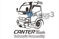 Canter Mania Indonesia Community Vektor Format CDR, PNG